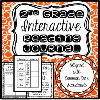 2nd Grade Interactive Journal Bundle (CCSS Aligned)
