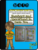 2nd Grade Interactive Journal- Numbers and Operations in Base Ten