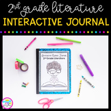 Reading Literature Interactive Notebook 2nd Grade