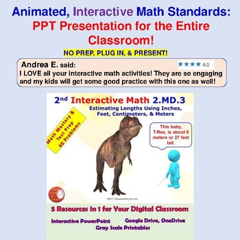 2nd Grade Interactive Math Bundle – Covering All 26 Common Core Standards