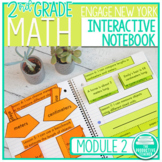 2nd Grade Math Engage New York Aligned Interactive Notebook: Module 2