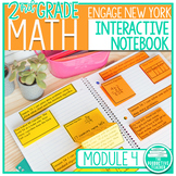 2nd Grade Interactive Math Notebook: Engage NY Module 4