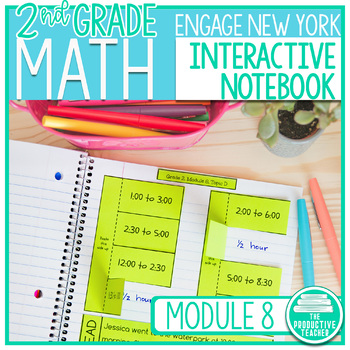 2nd Grade Interactive Math Notebook: Engage NY Module 8