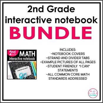 2nd Grade Interactive Notebook BUNDLE {ELA & MATH}