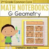 Geometry- 2nd Grade Math Interactive Notebook