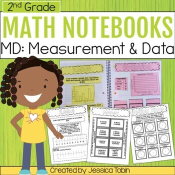 2nd Grade Interactive Notebook- Measurement and Data MD