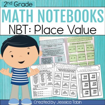 2nd Grade Interactive Notebook- Numbers and Operations in