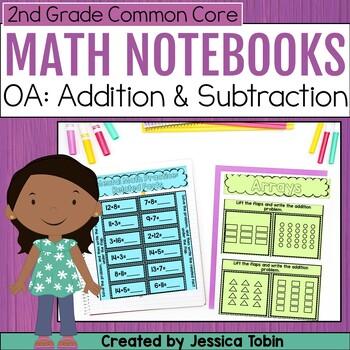 2nd Grade Interactive Notebook- Operations and Algebraic Thinking