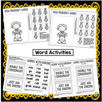 Story Structure, Homographs, Pronouns Interactive Notebook