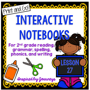 2nd Grade Interactive Notebook Week 27: Facts & Opinions, Words with OO, Adverbs