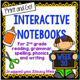 2nd Grade Interactive Notebook Week 30: Long O, E, Compare, Contrast, Root Words