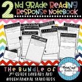 2nd Grade Interactive Reading Response Notebook All Standards Bundle