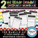2nd Grade Interactive Reading Response Notebook All Standa