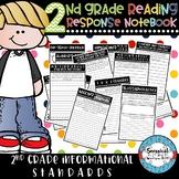 2nd Grade Interactive Reading Response Notebook Informational Standards