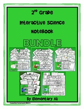 2nd Grade Interactive Science Notebook Bundle (TEKS)