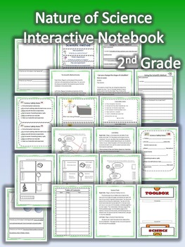 2nd Grade Interactive Science Notebook: Nature of Science (TEKS)