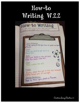 2nd Grade Writing Interactive Notebook