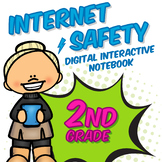 2nd Grade Internet Safety Digital Interactive Notebook