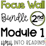 2nd Grade Into Reading Module 1 Focus Wall Posters Bundle