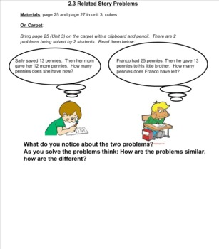 2nd Grade Investigations Unit 3- Week 2