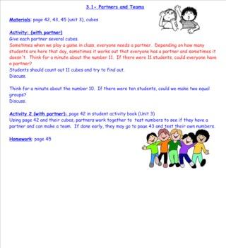 2nd Grade Investigations Unit 3- Week 3