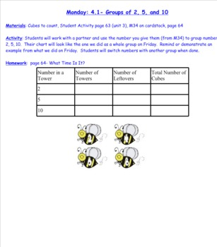 2nd Grade Investigations Unit 3- Week 5