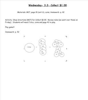 2nd Grade Investigations Unit 6- Week 2