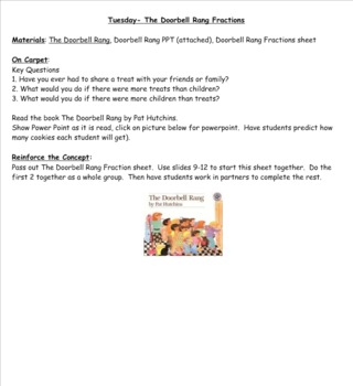 2nd Grade Investigations Unit 7- Week 4