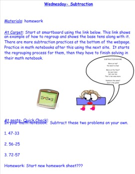 2nd Grade Investigations Unit 8- Week 4
