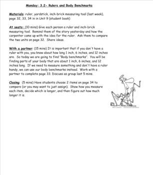 2nd Grade Investigations Unit 9- Week 2