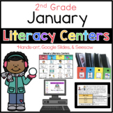 2nd Grade January Literacy Centers