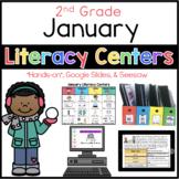 2nd Grade January Literacy Centers