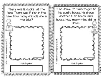 2nd Grade January Math Word Problems