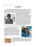 Jean Michel Basquiat Article and Graphic Organizer