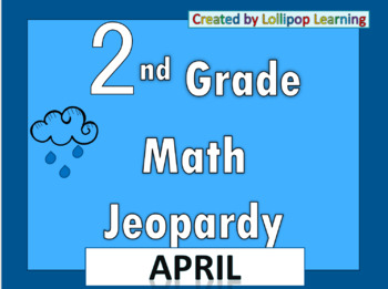 2nd Grade Jeopardy (April)
