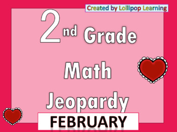 2nd Grade Jeopardy (February)