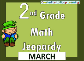2nd Grade Jeopardy (March)