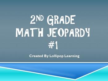2nd Grade Jeopardy Math #1