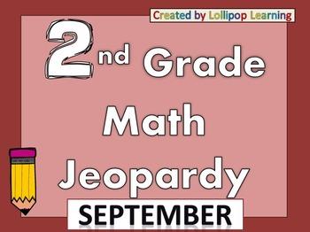 2nd Grade Jeopardy (September)