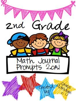 2nd Grade Journal Prompts- 2.OA.1
