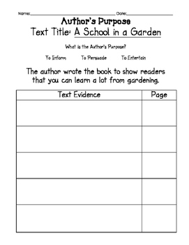 """2nd Grade Journey's Lesson 13 Guided Reading Plan  """"A School in a Garden"""""""