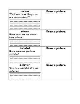 2nd Grade Journey's Lesson 14 Vocabulary Intro Worksheet