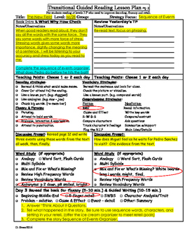 """2nd Grade Journey's Lesson 17 Guided Reading Plan """"The New Field"""""""