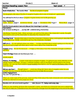 """2nd Grade Journey's Lesson 18 Guided Reading Plan """"The Lif"""