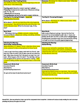 """2nd Grade Journey's Lesson 22 Guided Reading Plan """"Every Kind of Wish"""""""