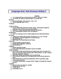 2nd Grade Journeys (2011 ed.) Daily Lesson Plans- Unit 5