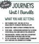 2nd Grade Journeys, Unit 1 BUNDLE of Resources