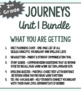 2nd Grade Journeys, Unit 1 BUNDLE of Resources