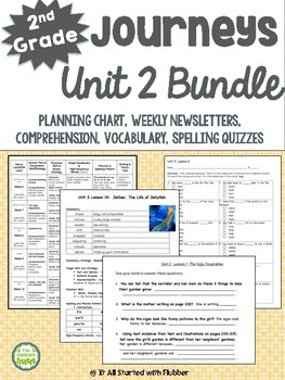 2nd Grade Journeys, Unit 2 BUNDLE of Resources