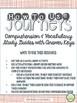 2nd Grade Journeys, Unit 3, Common Core Comprehension & Vocabulary
